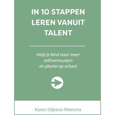 Cover van het boek 'In 10 stappen leren vanuit talent